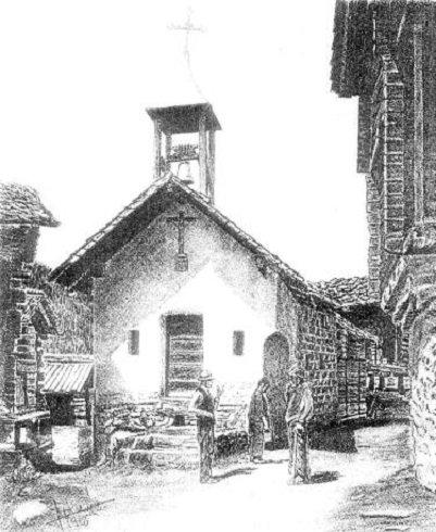 Cuimey (Külmez) - A kápolna - 1929.