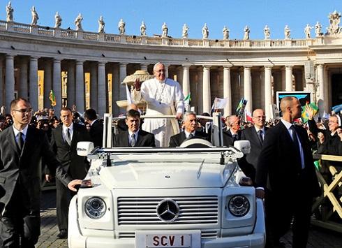 Riói világtalálkozó – Ferenc pápa elhagyta a Vatikánt