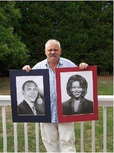 Obama elnök is elismeri a magyar művész munkáját + fotógaléria