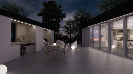 Finisbe ért az ODOO (Odú) ház építése Madridban