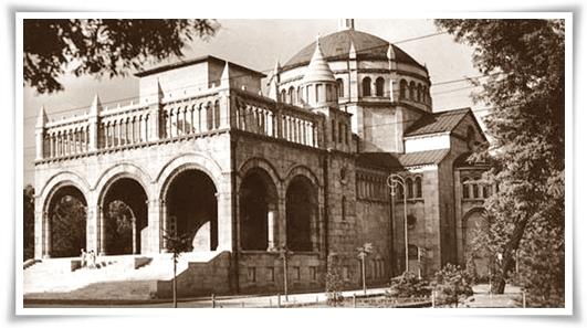 A Regnum Marianum templom felrobbantása