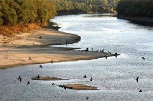 Kiszáradt a Tisza