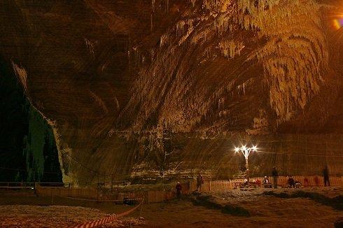 Erdély – A sóbánya ma turistalátványosság