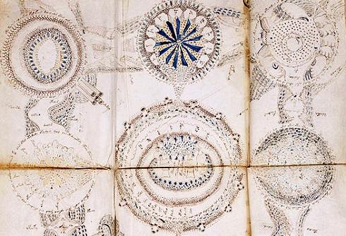 A Voynich-kézirat számos asztronómiai jellegű ábrát tartalmaz