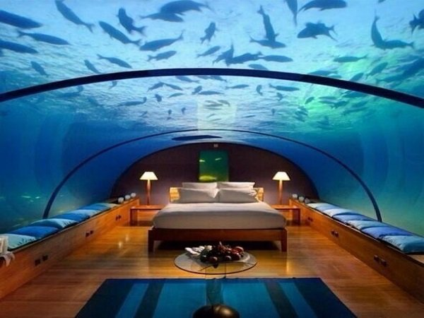 akvariumban