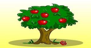 Az alma nem esik messze a fájától