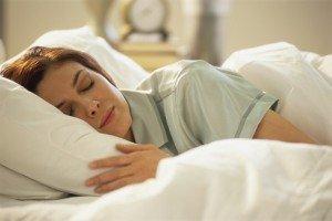 Nyugodt éjszakai alvás lámpafény nélkül
