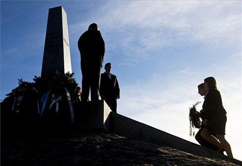 A határon túli magyarok számos településen tartottak megemlékezéseket