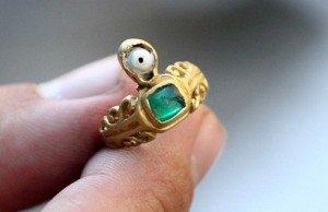 A 3. századból való aranygyűrűt találtak a régészek Vinkovciban