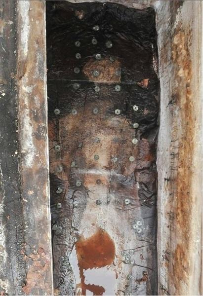 A China Watch által közöt, feltárt sír Nanchang városban.