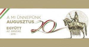 A nemzeti ünnep programjai Budapesten 2015. augusztus 20-án