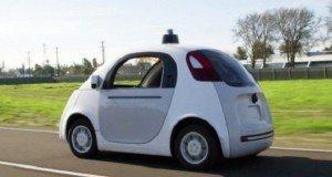 Google robotautó az úton