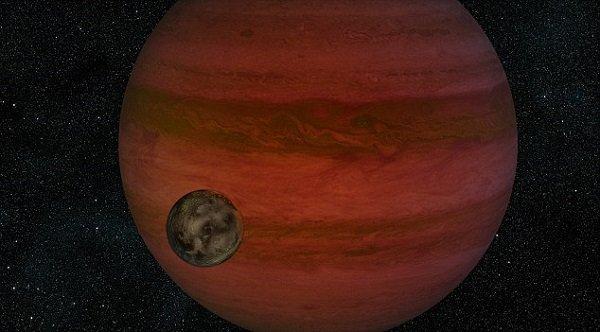 """A bolygó és """"holdja - Fotó: NASA"""
