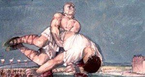 Botond legyőzi a görög óriást