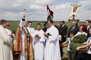 Országos búzaszentelési ünnep Tiszafüreden