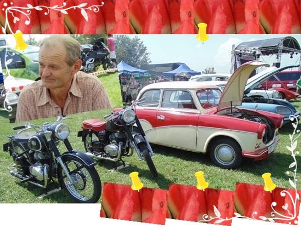 2014. augusztus 2. Csányi Dinnyefesztivál - Veterán autók bemutatója - Fotó: Magyar Nő Magazin