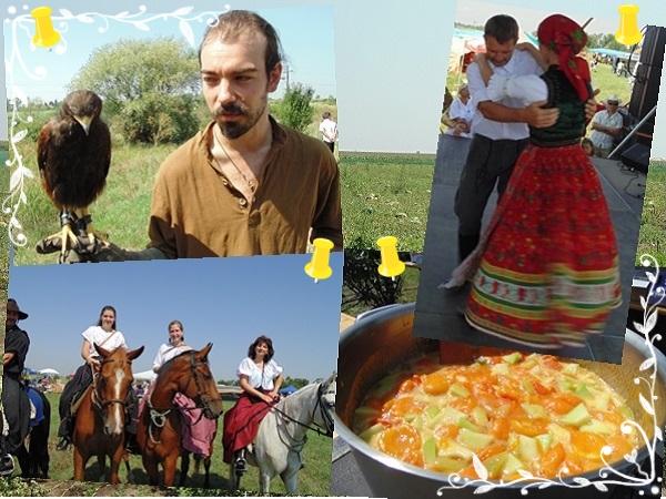 2014. augusztus 2. Csányi Dinnyefesztivál - Amíg a madárröptetés és a talp alá való muzsika szólt, bográcsban főtt finom ételek illata járta át a levegőt. - Fotó: Magyar Nő Magazin