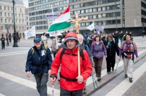 Gyalogos zarándoklat indult Budapestről a csíksomlyói búcsúba