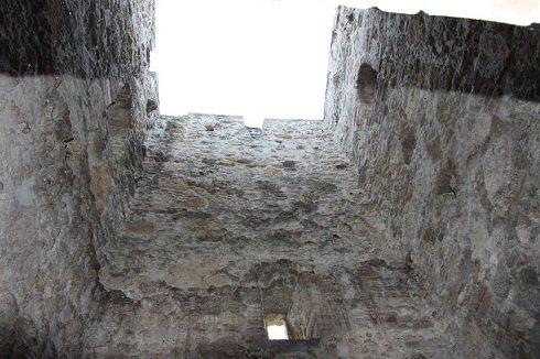 A torony bentről nézve