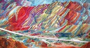 Szabadesés: A Danxia hegyek