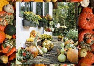 Tökös őszi dekoráció