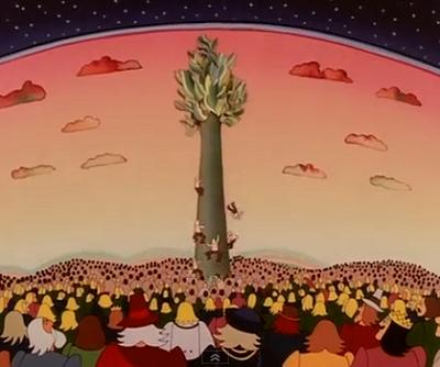 Az égigérő fán egyre feljebb kapaszkodunk