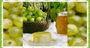 Rizspuding a szezon gyümölcsével