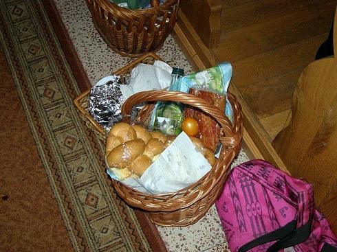Húsvéti ételszentelés néphagyományainknak megfelelően