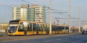 Forgalomba állt az első 56 méteres villamos Budapesten