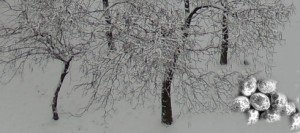 Húsvétváró hóban, latyakban
