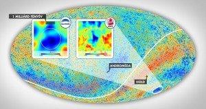 Magyar asztrofizikusok felfedezése segíthet a világegyetem titokzatos hideg foltjának megértésében