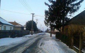 Tél a Szabolcs-Szatmár-Bereg megyei Hodászon