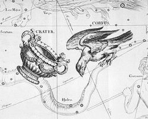 Szent királyaink is az égre, a csillagokba néztek – A holló csillagkép