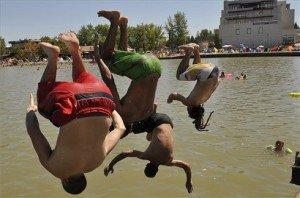 Hőség – Velencei-tó