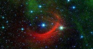 Egy huncut csillag sokkolja szomszédait a világűrben