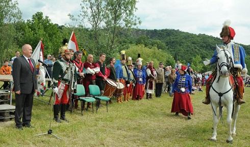 Remegett a föld Visegrádon – 1500 év magyar katonája elnevezésű haditúra