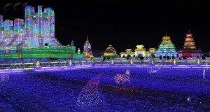 Kína legújabb városát jégből építették
