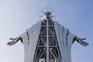 Csaknem huszonhárom méter magas Jézus-kilátót avatnak Székelyföldön