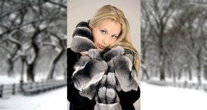 Télen, kabátban