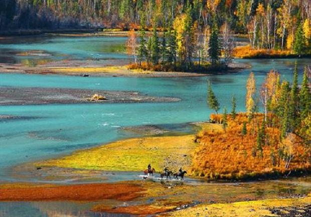 A Kanas tó vidéke