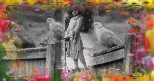 József Attila: Mikor az uccán átment a kedves