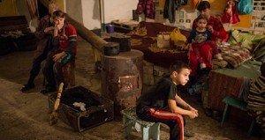 Zord ortodox karácsony Kelet-Ukrajnában