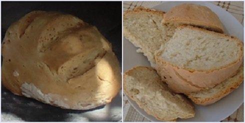 A kenyér nem tartalmaz adalékanyagot. Finom illata és íze a kemence környékére csábította a vendégeket