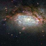 Két galaxis összeütközéséről készített képet a NASA űrteleszkópja