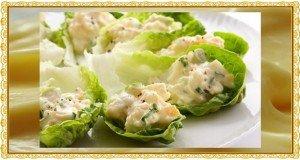 Valódi majonézes zöld saláta