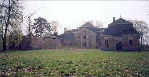 A kastély jelenlegi állapotában