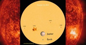 Az elmúlt huszonnégy év legnagyobb napfoltját észlelték
