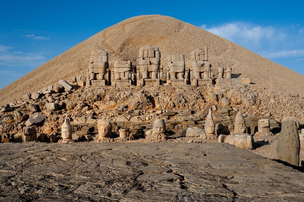 Nemrut hegy Törökország délkeleti részén