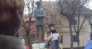 Marosvásárhely: Olaszul is köszöntötték Petőfit születésének évfordulóján