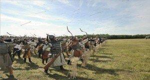 Több mint ezer hagyományőrző harcos emlékezett a pozsonyi csatára Ópusztaszeren